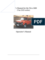 Lada Niva 1600 Owners Manual1600