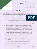 CA IPCC NOV 2010 QUSTION PAPER 2