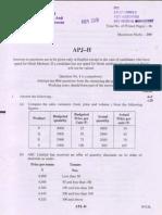 CA IPCC NOV 2010 QUSTION PAPER 3