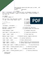 C ++ Cheat Sheet