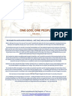 One God One People July 2012