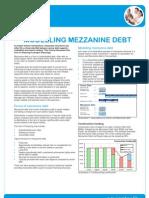 Mezzanine Debt