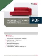 SAP Kernel 720