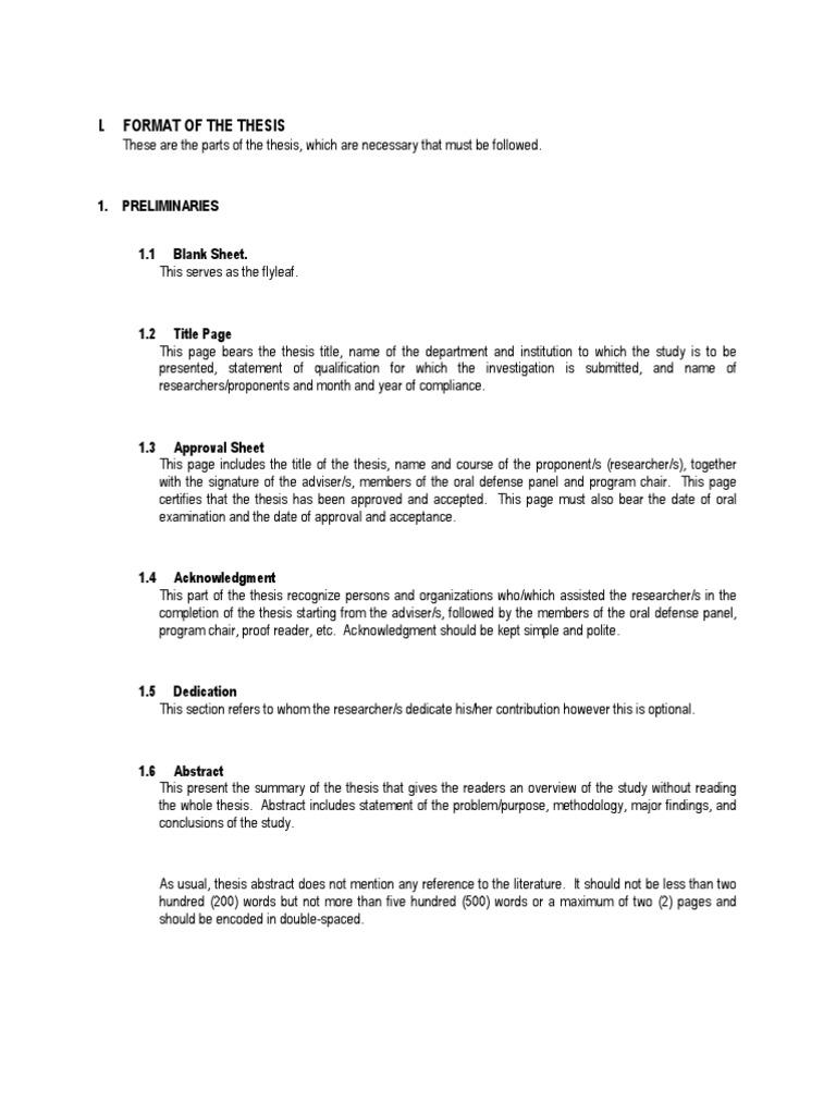 Dissertation acknowledgements undergraduate