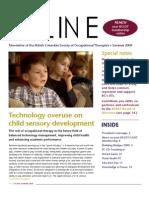 Summer2009 OTLine Technology Overuse on Child Sensory Development
