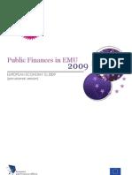 Public Finance in EMU 2009