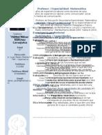 Curriculum Vitae Modelo3c Azul