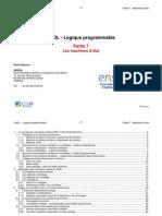 Cours VHDL 10 Partie7 Machines Etats