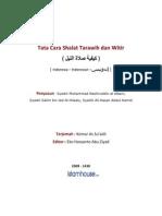 Id Tata Cara Shalat Tarawih Dan Witir.doc