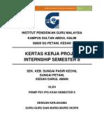 Kertas Kerja Projek Internship