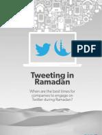 Tweeting in Ramadan