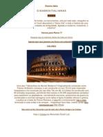 Roteiro Itália - Roma