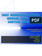 High Sensitive Alcohol Sensor