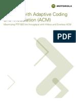 Adaptative Code Modulation