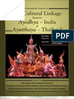 International Seminar on the Cultural Linkage Between Ayodhya-India Aytthya-Thailand