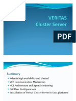 Veritas Cluster Knowledge Sharing