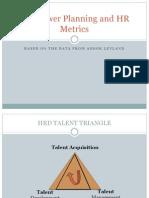 Manpower Planning and HR Metrics
