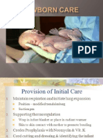 Newborn Care Presentation