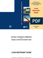 Load Restraint Guide 2004 Australia