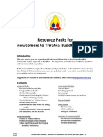 Triratna Resource Pack for Newcomers