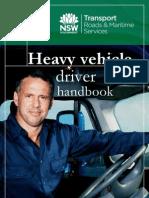 Heavy Vehicle Driver Handbook NSW Australia