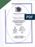 Musica Maestro Navarro Mollor