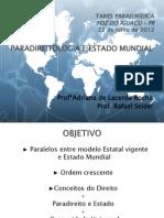 Paradireitologia e Estado Mundial