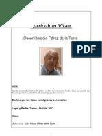 Curriculum Vitae Abril 2012