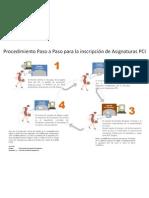 Procedimiento de Inscripcion PCI UCV