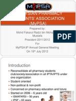 MyPSA Presentation - AGM NoGAPS UiTM 2012