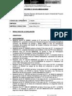 Auto Directorial 169-2012-MEM-AAE, Evaluación EIA Chadin 2 de Oderbecht/AC Energia - Observaciones
