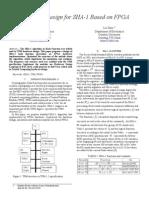 Hardware Design for SHA-1 Based on FPGA