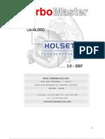 HOLSET CATÁLOGO TURBINAS 2007 EM PDF