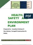 Plan de seguridad e higiene(inglés)