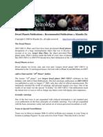 Dwarf Planets Publications