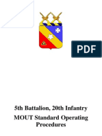 5th Battalion - Bajonett MOUT SOP