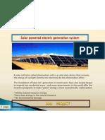 Solar Imformation