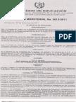 2011 3613 2011 Am Reglamento de Ley Educ Especial