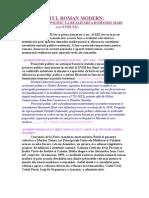 STATUL ROMAN MODERN-De La Proiect Politic La Realizarea Romaniei Mari