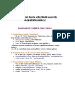 Autonomii Locale Si Institutii Centrale