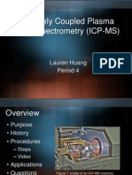 Inductively Coupled Plasma Mass Spectroscopy (ICP-MS)
