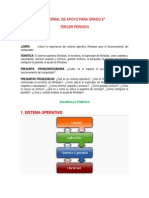 Material de Apoyo Grado 6 Periodo 3