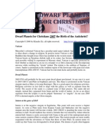 Dwarf Planets for Christians