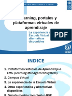 Portales y as Virtuales de Aprendizaje