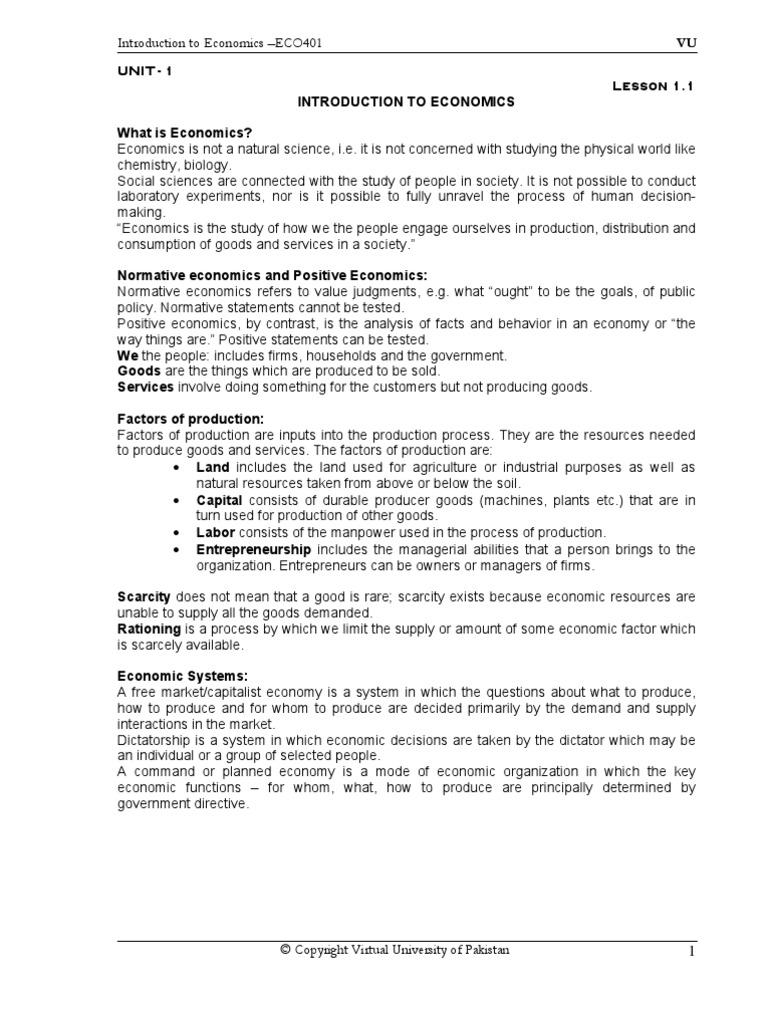 worksheet Introduction To Economics Worksheet eco401 economics price elasticity of demand curve