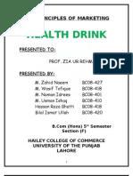 Finnal Energy Drink Project