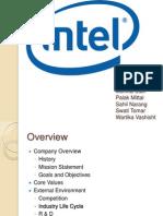 Intel Case Study_Presentation