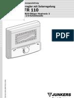 Cronotermostat FR 100 Instructiuni Instalare Utilizare