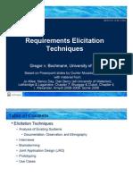 SEG3101-ch2-3 - ElicitationTechniques