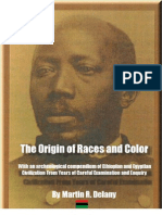 The Origin of Races and Color by Martin R Delany